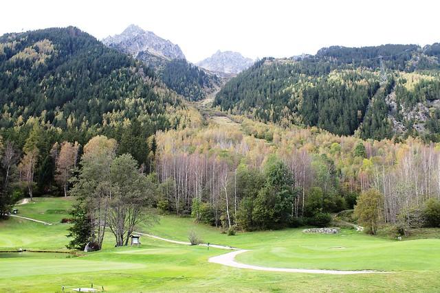 greens golf course les praz