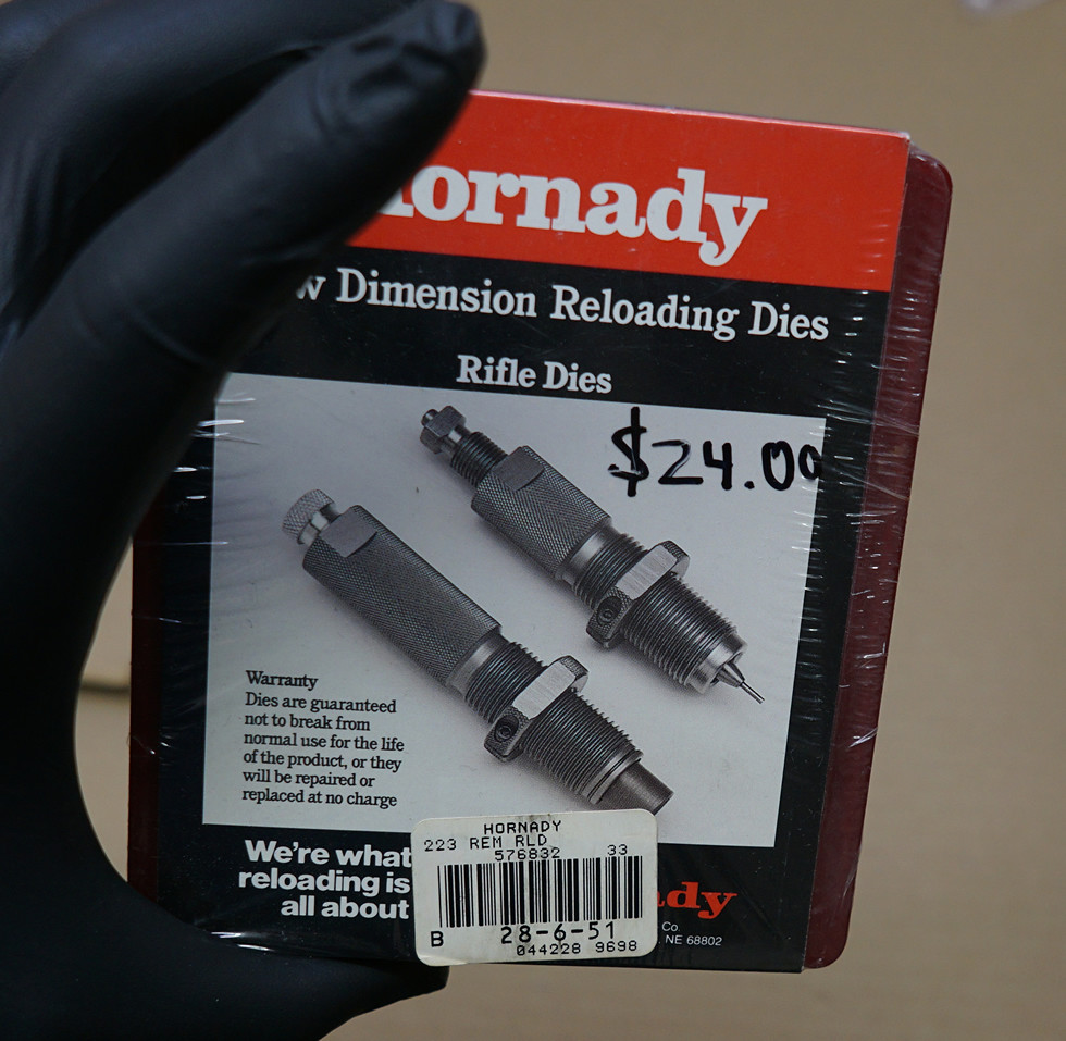 Hornady 223 rem reloading dies 576832 die set new (1) | Flickr