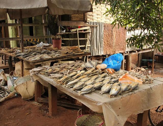 Fischstand in Sambava