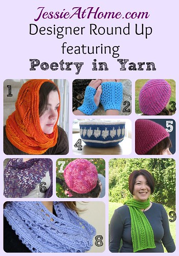 Lindsey Stephens ~ Poetry in Yarn Round Up from Jessie At Home