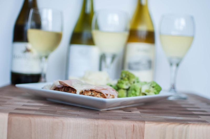 Simple Chicken Cordon Bleu + Wine Pairings