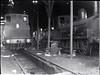 Locomotive No. 9? (blurred) beside unidentified locomotive in railway shed [n.d.]