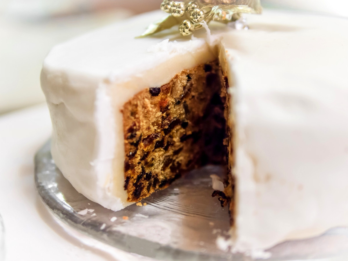 Christmas Cake. Credit James Petts, flickr