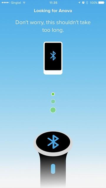 Anova Wi-Fi iOS App - Bluetooth Setup #1