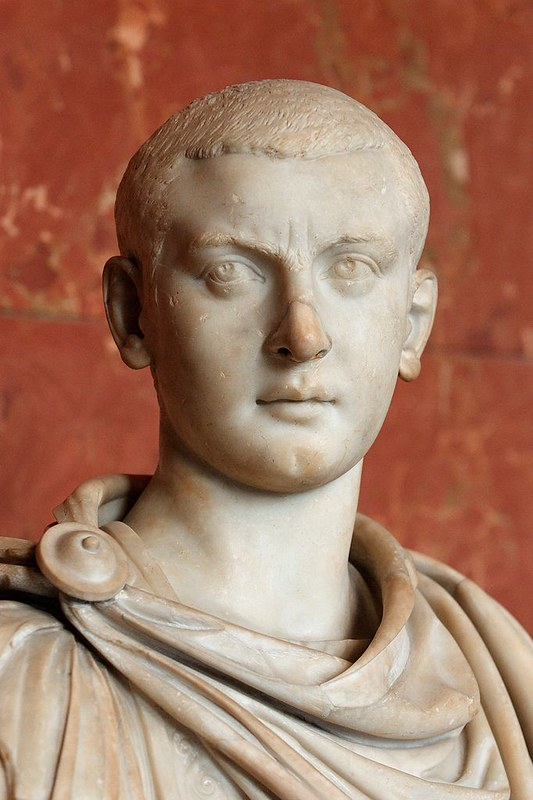 Bust of Gordian III. Marble