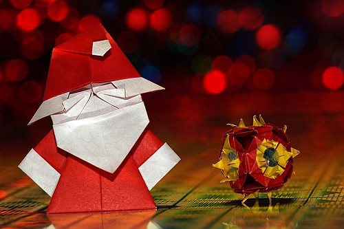 Origami Santa Claus (Jacky Shan)