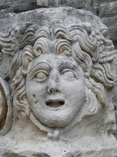 Carved Medusa, from the Threatre, Myra
