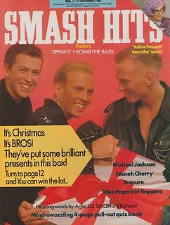 Smash Hits, December 14, 1988