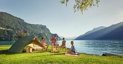 Kempování ve Švýcarsku