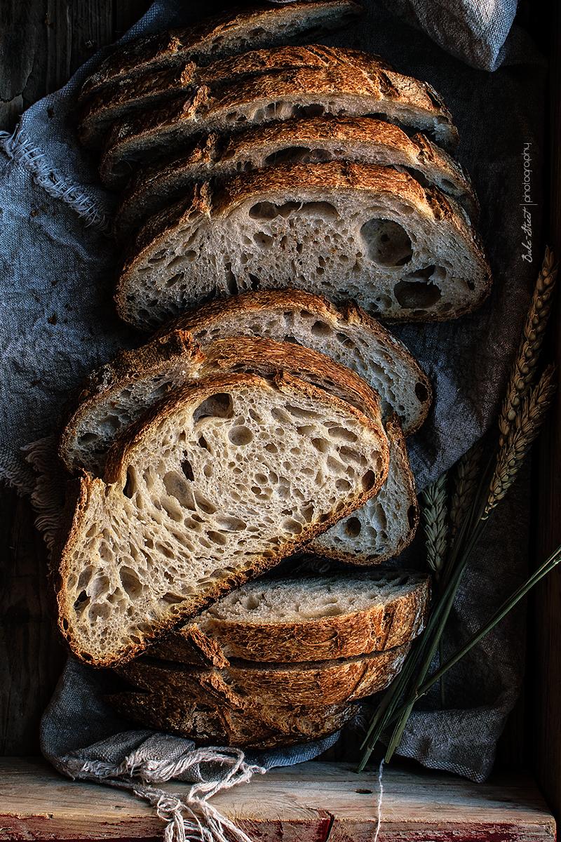 Resultado de imagen de rebanadas grandes de pan con masa madre
