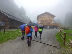 Ankunft an der Nassereiter Hütte