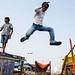 Jump - Mumbai, India by Maciej Dakowicz