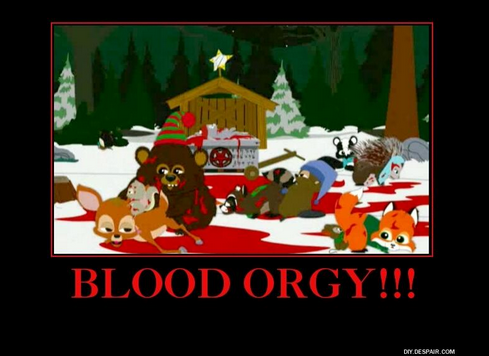 Interesting. You blood orgy southpark long