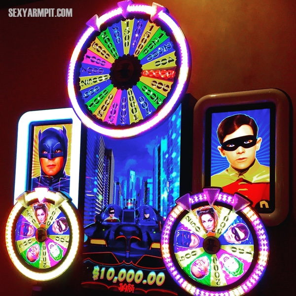 Batman 1966 Slot Machines at Harrah's in Atlantic City, NJ