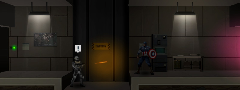 Behind the Scenes: Avengers game using Starling, Unity