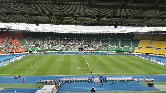 Im Ernst-Happel-Stadion