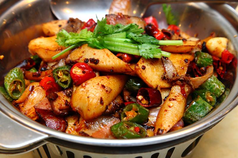 Stir-Fried-Mushroom-with-Bacon