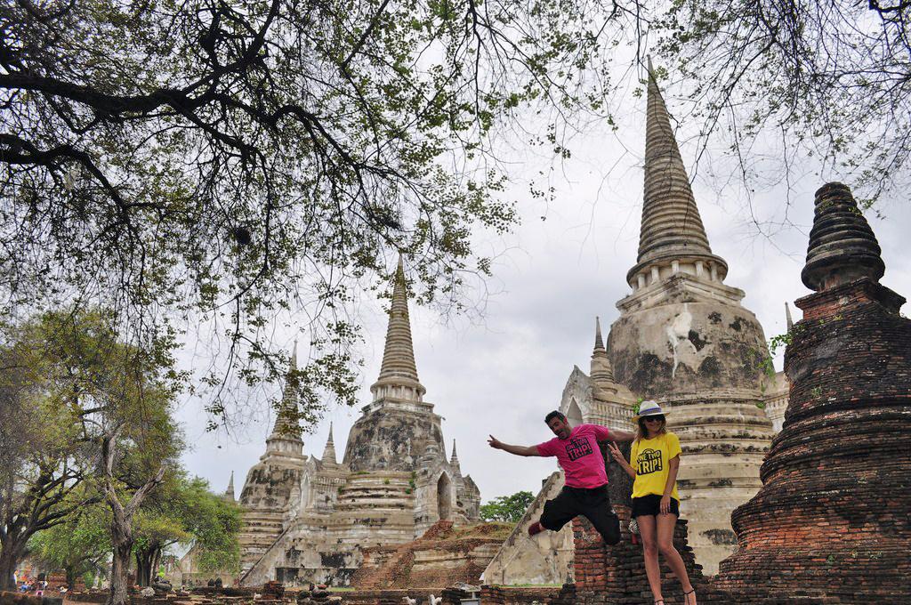 Templos de Ayutthaya en Tailandia ayutthaya - 19719908082 0f9ed73159 o - Cómo ir a Ayutthaya desde Bangkok