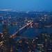 NYC at night by Iván Kużel