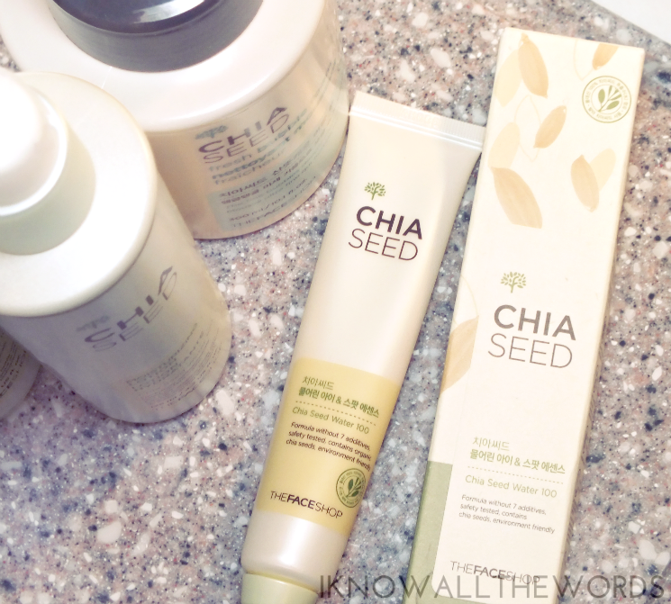 THEFACESHOP Chia Seed Under Eye Circle & Age Spot Serum