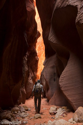Into the Light..., Buckskin Gulch image
