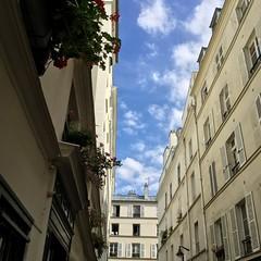 A piece of peace. In Paris.