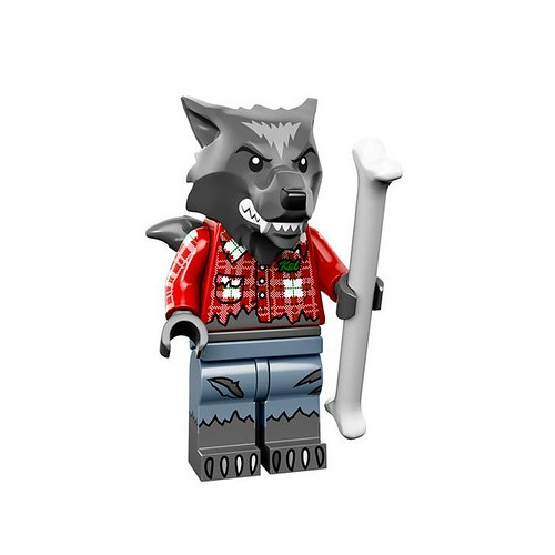 LEGO 71010 Collectible Minifigures Series 14 01 - Wolf Guy