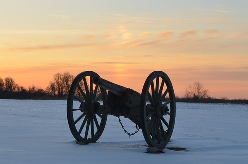 Frozen Canon on Malvern Hill