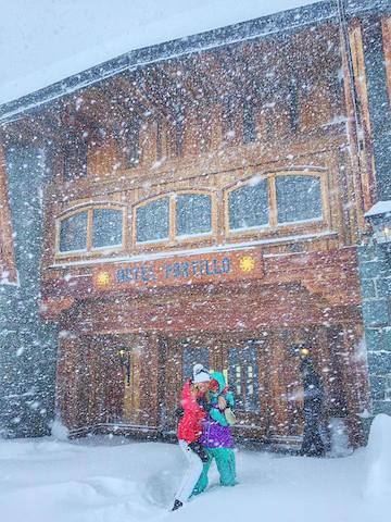 Snowfall (Facebook/Ski Portillo Chili)