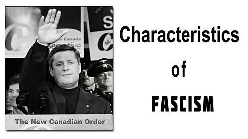 Stephen Harper Characteristics-of-Fascism