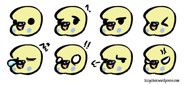 emoji budgie face