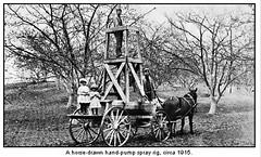 Spraying Fruit Trees 1915