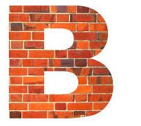 B letter bricks