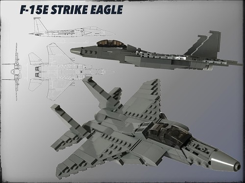 F-15E Strike Eagle 1/72 Scale