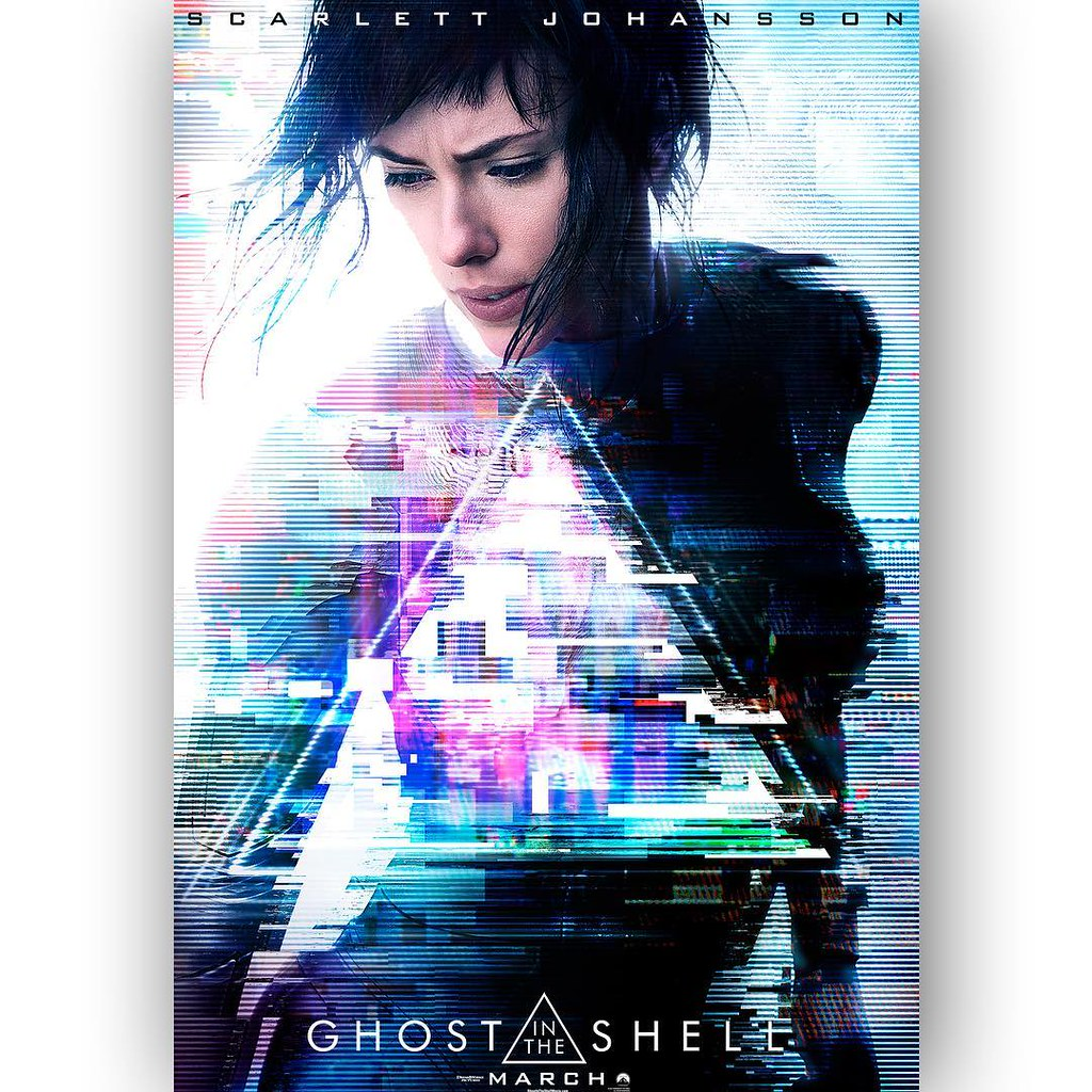 Ghost in The Shell  live 2017 - first Poster