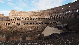Image of Colosseum near Roma Capitale. trip20170208 rzym roma muzeumwatykańskie colosseum geo:lon=12492217 geo:lat=41889911