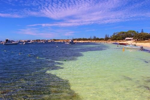 The beautiful waters of Rotto
