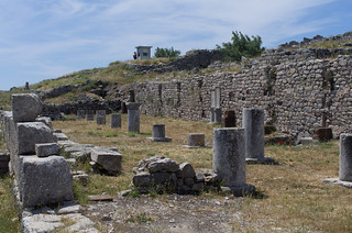 Image of Ancient Thera near Emporeío. gr griechenland ancientthera messavouno
