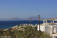 Les 5 moulins, Mykonos, Cyclades, Grèce