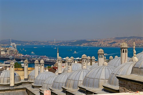 View from the Suleymaniye Mosque