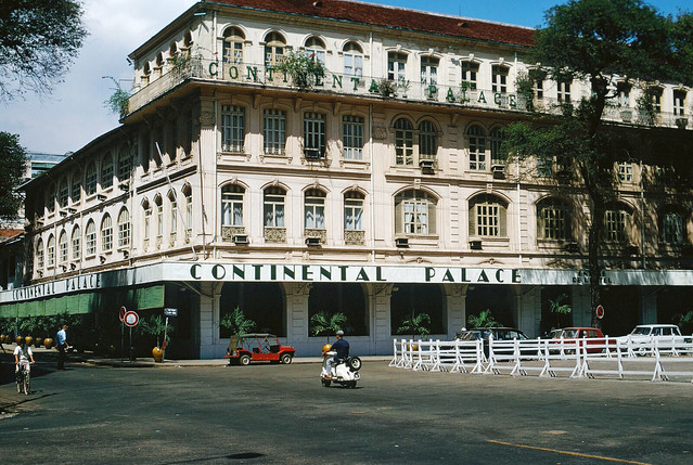 The Continental Palace, Saigon, Vietnam 1968