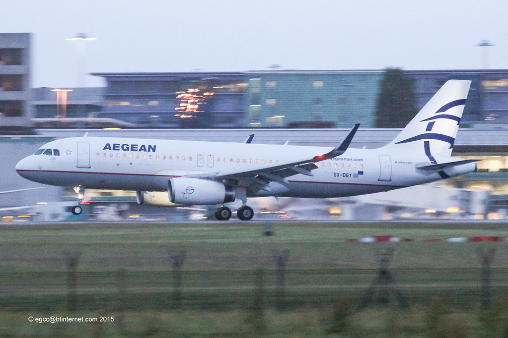 SX-DGY - A320 - Olympic Air