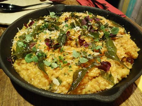 Seafood Saffron Risotto