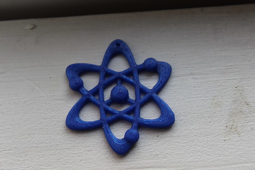 3D Printing - Science Themed Necklace by Rosie Campbell