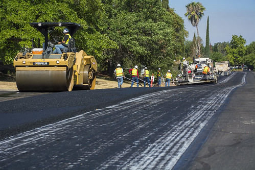 Seeno Road repaving in Granite Bay