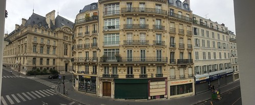 View from Hotel Diana, Paris