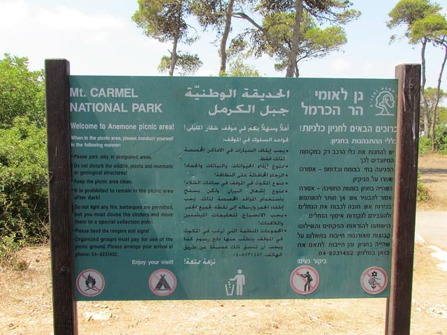 Carmel National Park 2015