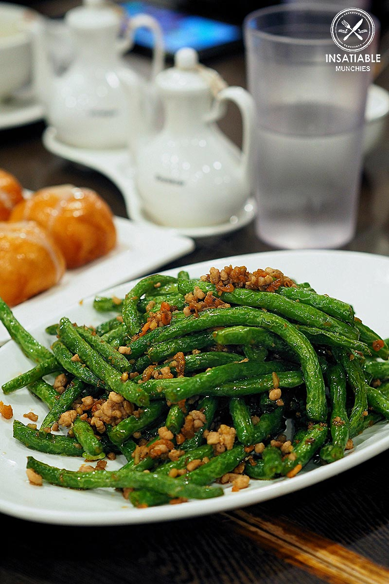 Sydney Food Blog Review: Taste of Shanghai, World Square. Stir Fried Green Beans with Pork Mince