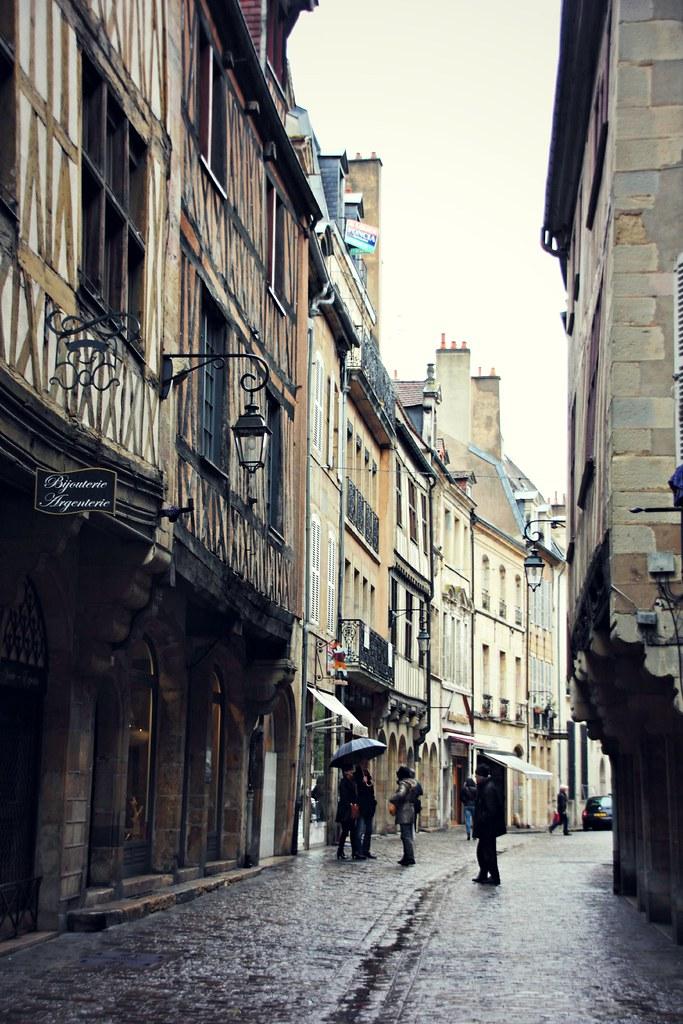 Dijon in Rain