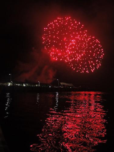 Fireworks at Wakkanai on AUG 02, 2015 (5)